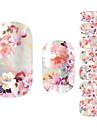 Adesivos para Manicure Artística Flor Adorável maquiagem Cosméticos Designs para Manicure
