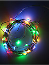 3AA Battery Powered 5M 50 LED Strip Copper Wire lights Decoration Holiday Lighting With Battery Box LED String Light