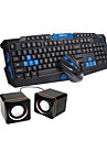 Wireless 2.4GHz Gaming Mouse keyboard and USB Speakers Kit