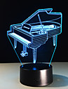 1 pc 3D Nightlight Color-Changing Compact Size Artistic Other Modern/Contemporary