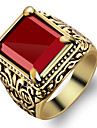 Men\'s Ring - Fashion Red Ring For Party / Daily / Casual