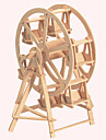 Wooden Puzzles Famous buildings Chinese Architecture House Ferris Wheel Professional Level Wood Christmas Carnival Birthday