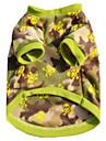 Chien Gilet Vetements pour Chien Decontracte / Quotidien Britannique Couleur camouflage