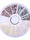 1 Box Colorful Resin Jelly 3D Nail Decoration Manicure Nail Art Decoration