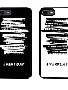 Couple Theme  Pattern  TPU Material Phone Case for iPhone 7 7 Plus 6s 6 Plus