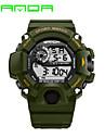 SANDA Hommes Montre de Sport Montre Militaire Smart Watch Montre Tendance Montre Bracelet Numerique Quartz JaponaisLED Calendrier Tracker