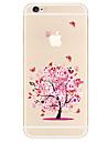 Kılıf Na Apple iPhone X iPhone 8 Plus Etui iPhone 5 iPhone 6 iPhone 7 Wzór Czarne etui Drzewo Miękkie TPU na iPhone X iPhone 8 Plus