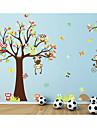 Животные Романтика Мода Наклейки Простые наклейки Декоративные наклейки на стены, Бумага Украшение дома Наклейка на стену Стена