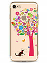 Case For Apple iPhone X iPhone 8 Plus iPhone 7 iPhone 6 iPhone 5 Case Pattern Back Cover Tree Soft TPU for iPhone X iPhone 8 Plus iPhone