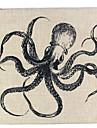 1 штук Лён Наволочки Наволочка, Цветочный принт С животными принтами Графические принты Натюрморт Текстура Ретро