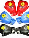 قفازات تمرين الملاكمة / قفازاتNMA / قفازات الملاكمة إلى الملاكمة, فنون قتالية منوعة(MMA) اصبع كامل متنفس, يمكن ارتداؤها, تدريب PU للأطفال أزرق / أسود / أبيض / أزرق / أبيض