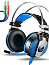 KOTION EACH GS500 Over Ear Headband Wired Headphones Piezoelectricity Plastic Gaming Earphone with Volume Control with Microphone