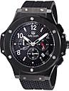 MEGIR Men\'s Sport Watch Military Watch Fashion Watch Wrist watch Quartz Calendar Noctilucent Swiss Designer Genuine Leather Band Luxury