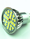 4W 350 lm GU10 LED Spotlight MR16 24 leds SMD 5050 Dimmable Warm White Cold White AC220 AC 85-265V