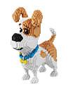 BALODY Blocos de Construir Brinquedos Brinquedos Cachorros Diamante Personagem de Filme 2100 Pecas