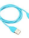 USB 2.0 Type-C Adaptateur de cable USB Portable Cable Pour Samsung Huawei LG Nokia Lenovo Motorola Xiaomi HTC Sony 100 cm PVC