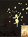 Натюрморт Мода Отдых Наклейки Простые наклейки Декоративные наклейки на стены, Бумага Украшение дома Наклейка на стену Стена Пол