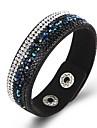Bracelets Retro Gothique Cuir Ailes / Plume Bijoux Occasion speciale Cadeau Bijoux de fantaisie Blanc Noir Marron Bleu