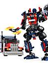 GUDI Robo Carros de Brinquedo Blocos de Construir 377 pcs Guerreiro Maquina Robo Transformavel Criativo Legal Classico Elegante & Luxuoso Glamoroso & Dramatico Para Meninos Para Meninas Brinquedos Dom