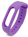 regarder la bande de silicone materiel pour xiaomi miband 2 bandes de montre pour xiaomi