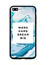 용 패턴 케이스 뒷면 커버 케이스 단어 / 문구 하드 아크릴 용 Apple 아이폰 7 플러스 아이폰 (7) iPhone 6s Plus iPhone 6s iPhone SE/5s