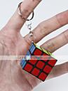 Cubo magico Cube intuitivo Cubo Cubi Anello portachiavi Cubo a puzzle Adesivo liscio Classico Divertimento Fun & Whimsical Classico Per bambini Per adulto Giocattoli Unisex Da ragazzo Da ragazza