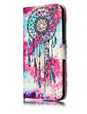 Case For Huawei P9 Lite / Huawei / Huawei P8 Lite Wallet / Card Holder / with Stand Full Body Cases Butterfly / Dream Catcher Hard PU Leather for P10 Lite / P10 / Huawei P9 Lite