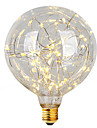 2W E26/E27 LED Filament Bulbs G95 47 Integrate LED 300 lm Warm White 2700 K Decorative AC 220-240 V 1pc