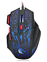 HXSJ Cable Gaming Mouse DPI reglable Retro-eclaire 1000/1600/2400/3200/5500
