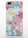 For Frosted Pattern Case Back Cover Case Geometric Pattern Hard PC for Apple iPhone 7 Plus iPhone 7 iPhone 6s Plus iPhone 6 Plus iPhone 6s