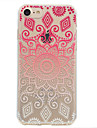 For Sun Lace Printing Pattern Soft TPU Material Phone Case for iPhone 7 Plus 7 6S Plus 6S 6 SE 5