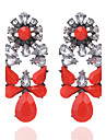 Women\'s Crystal Crystal Drop Earrings - Floral Geometric Geometric For Party Daily Casual