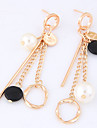 Women\'s Drop Earrings Tassel Euramerican Fashion Resin Alloy Circle Jewelry For Party Daily