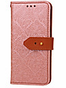 For Samsung Galaxy A5 A3(2017)  Card Holder Wallet with Stand Flip Embossed Pattern Case Full Body Case Flower Hard PU Leather for A320 A520 A7(2017)