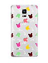 For Samsung Galaxy Note5 Note 4 Pattern Case Back Cover Case Flower TPU Samsung  Note 3 Note2