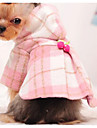 Dog Coat Dog Clothes Cute Fashion Color Block Blushing Pink Light Blue