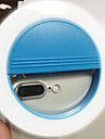 Mobile phone light led self-timer lamp USB charging beauty flash night light built-in lithium battery blue