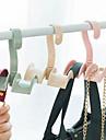 Műanyag Nyitva itthon Szervezet, 1db Horgok Táska akasztó Ruha rendszerezés Nyakkendőtartók