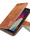 Capinha Para LG Porta-Cartao Carteira Com Suporte Flip Magnetica Capa Protecao Completa Cor Solida Rigida couro legitimo para LG V20 LG G6