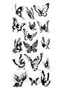 Tatouages Autocollants Series animales Motif Bas du Dos ImpermeableHomme Femme Adolescent Tatouage Temporaire Tatouages temporaires