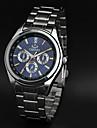 CHENXI® Men\'s Simple Design Fashion Dress Watch Japanese Quartz Water Resistant Silver Steel Strap Wrist Watch Unique Watch