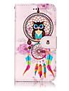 Для huawei p10 lite p8 lite (2017) pu кожаный материал ветроустойчивая сова шаблон чехол для телефона p10 plus p10 p9 lite p8 lite