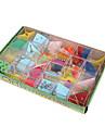 Лабиринты и логические головоломки 3D куб-головоломка Игрушки Квадратный Металл Куски Не указано Универсальные Подарок