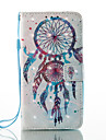 For Case Cover Wallet Card Holder with Stand Flip Pattern Full Body Case Dream Catcher Hard PU Leather for Samsung J5 (2016) J3 (2016)