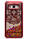 For Samsung Galaxy J5 (2016) J3 J3 (2016) Case Cover Plating Flowing Liquid Pattern Back Cover Case Mandala Glitter Shine Soft TPU