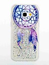 Capinha Para Samsung Galaxy A5(2017) A3(2017) Liquido Flutuante Estampada Capa Traseira Apanhador de Sonhos Macia TPU para A3 (2017) A5