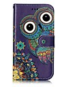 For Samsung Galaxy J3 (2016) J3 (2017) Case Cover Card Holder Wallet Embossed Pattern Full Body Case Owl Hard PU Leather for J3 J2 Prime