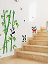 Animals Cartoon Botanical Wall Stickers Plane Wall Stickers Decorative Wall Stickers, Paper Home Decoration Wall Decal Wall Glass/Bathroom