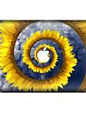 1 piece Anti-Rayures Floral/Botanique En Plastique Transparent Decalcomanie Motif PourMacBook Pro 15\'\' with Retina MacBook Pro 15 \'\'