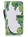 Назначение Чехлы панели Кошелек Бумажник для карт со стендом Флип С узором Магнитный Чехол Кейс для дерево Твердый Искусственная кожа для